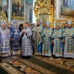В день почитания Корецкой иконы Божией Матери митрополит Павел сослужил Предстоятелю