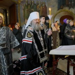 Metropolitan Pavel read the Gospels of Passion of The Great and Holy Friday
