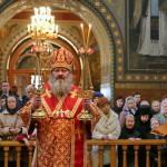 Митрополит Павел возглавил Литургию в Покровской женской обители г. Киева в день памяти ее основательницы