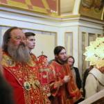Чтение Акафиста Воскресению Христову совершил митрополит Павел
