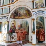 У Світлий вівторок Намісник Лаври очолив Літургію в скиту