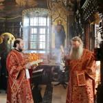 Намісник Лаври очолив заупокійні богослужіння Радониці