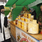 В Лавре начала работу православная выставка «Благовещенская»