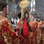 В останній день Світлої седмиці Намісник Лаври звершив Літургію