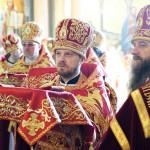 У день 56-річчя митрополита Павла Предстоятель УПЦ очолив Літургію в Успенському соборі