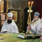 Митрополит Павел очолив богослужіння Лазаревої суботи