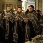 В Лавре совершены богослужения с выносом и погребением Плащаницы Спасителя
