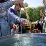 The Divine services on the feast of Life-Giving Spring of the Theotokos at the Lavra