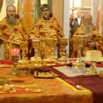 В день Светлого Христова Воскресения Наместник Лавры сослужил Предстоятелю УПЦ