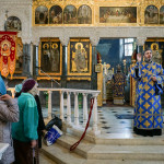 Services of the 5th Saturday Of Lent: The Akathist Hymn led by metropolitan Pavel