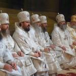 В день юбилея Харьковского Собора Наместник Лавры сослужил Предстоятелю УПЦ