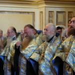 Акафист Успению Пресвятой Богородицы в Великой церкви возглавил митрополит Павел