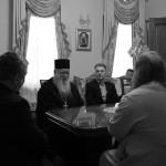 Настоятель афонського монастиря відвідав Лавру