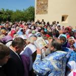 У Межирицькому монастирі святкову Літургію звершив Намісник Лаври