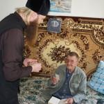 Братия Лавры поздравили ветеранов войны и почтили память почивших