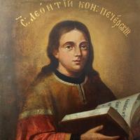 Прп. Леонтий, канонарх Печерский (XIV)