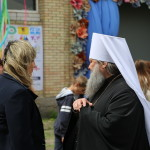 Vicegerent of the Lavra was welcomed in the Social Childcare Center