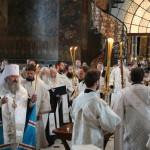 Намісник очолив заупокійні богослужіння Троїцької батьківської суботи
