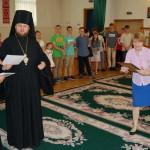 Юным участникам фестиваля «Божьи дети» из детдома «Малятко» вручили грамоты
