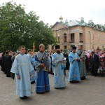 Святкування головної святині Корецького монастиря очолив митрополит Павел