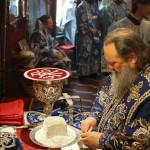 Літургію в ювілей відкриття Введенського монастиря очолив Намісник Лаври