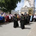 The feast of the main sanctuary of the Koretskyi Monastery led by metropolitan Pavel