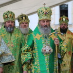 Primate of the UOC led Liturgy in Lavra on his Name Day