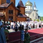Богослужения в монастыре с. Городно возглавил митрополит Павел