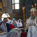 Наместник возглавил заупокойные богослужения Троицкой родительской субботы