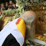The prayer and the Cross Procession on the St. Vladimir Hill took place in Kyiv