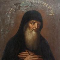 Прп. Сильвестр, чудотворець (XII)