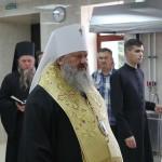 Митрополит Павел освятил овощной цех Лавры