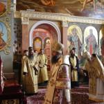 В праздник перенесения Нерукотворного Образа Спасителя Наместник Лавры совершил Литургию