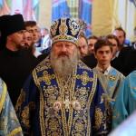 В Почаевской Лавре митрополит Павел сослужил Предстоятелю УПЦ