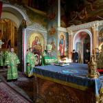Translation of venerable Theodosius' relics feast led by the Primate of the UOC
