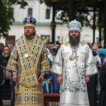 Предстоятель УПЦ возглавил богослужения в праздник Успения Божией Матери в Лавре