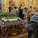 Чин погребения Плащаницы Пресвятой Богородицы возглавил Предстоятель УПЦ
