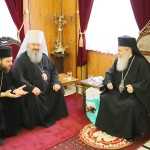 Намісник Лаври зустрівся з Патріархом Єрусалимським