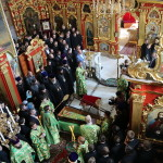Предстоятель УПЦ возглавил молебен перед началом учебного года