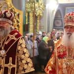 Литургию в Густынском монастыре возглавил митрополит Павел