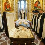 В Лавре совершено отпевание митрополита Иринея