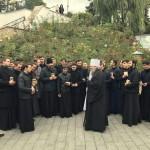 Наместник принял студентов из Свято-Успенской Почаевской Лавры