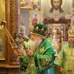 Літургію у Введенському монастирі столиці очолив митрополит Павел
