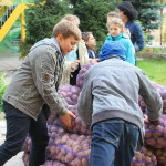 "Aid rendered to the orphans from the ""Father's House"" under the patronage of the Vicegerent of the Lavra"