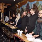 Организация обедов для малоимущих за пределами Лавры