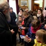 Митрополит Павел благословил детей из детского дома «Надежда»