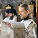 On the day of Feast of Archangel Michael and All Angels, His Grace Pavel led the divine services