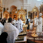 Намісник Лаври звершив заупокійні богослужіння по митрополиту Іринею