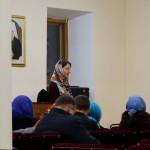 На молодежной встрече молились о Святейшем Патриархе Кирилле