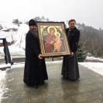 Храму Закарпатья передан в дар список иконы «Скоропослушница»